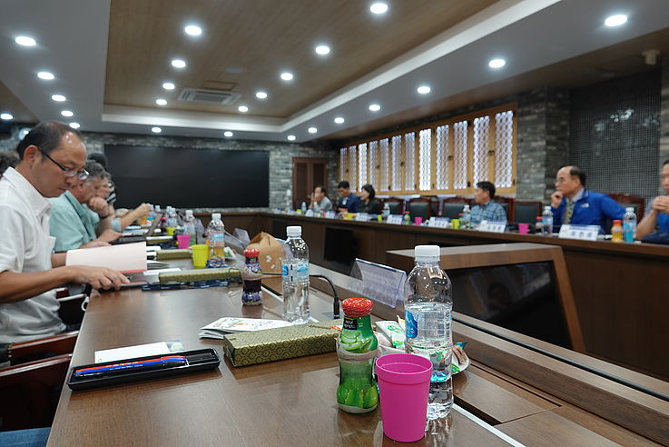 Erneute Gespräche über die DMZ nach der Exkursion