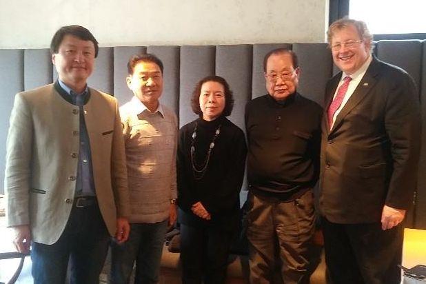 Treffen mit Herrn Chun Kwang-Geun