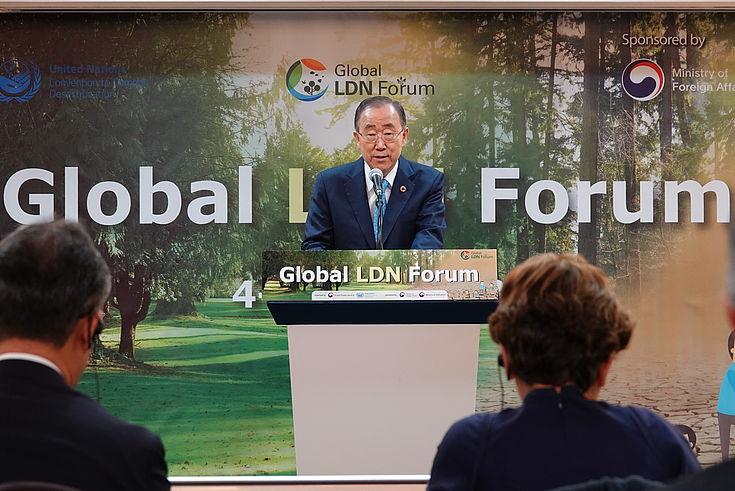 Ban Ki-Moon ruft zur innerkoreanischen Umweltzusammenarbeit auf