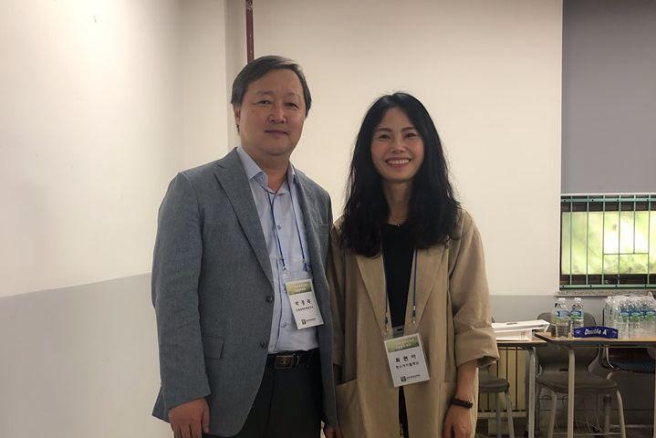 Dr. Choi (HSS) und Dr. Park