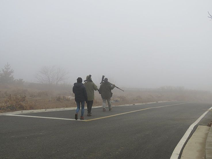 Durch den Nebel laufen – Baengnyeongdos Zukunft ist ungewiss, aber es ist wichtig eine gesunde und saubere Umwelt für Besucher und Bewohner zu erhalten.