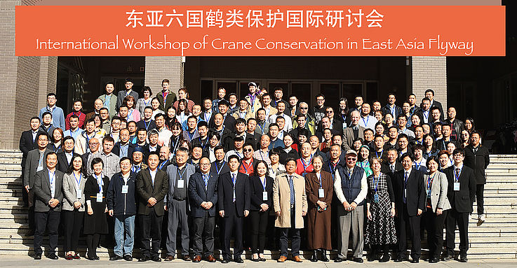 A Strategy for the Conservation of Cranes – Workshop in Beijing