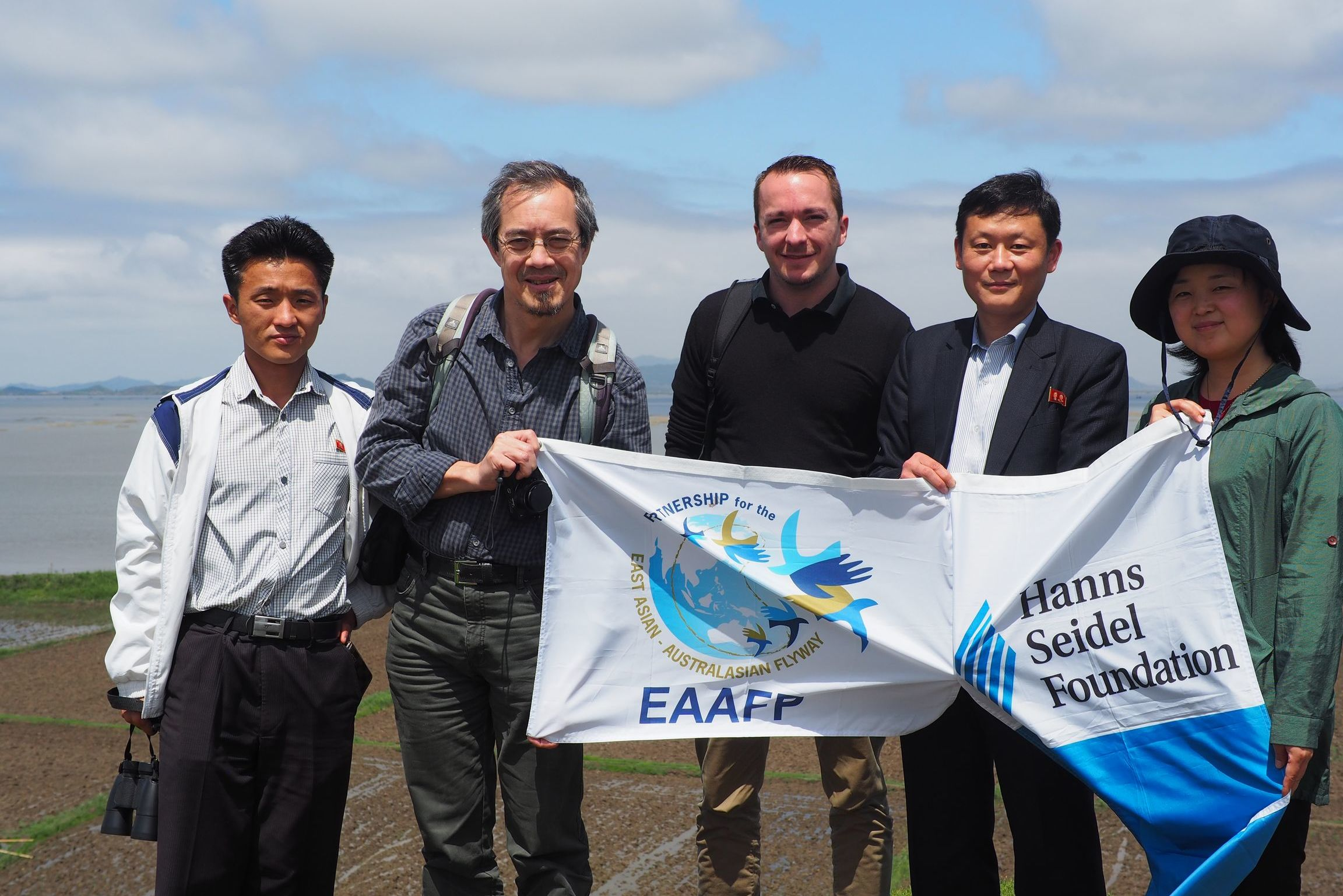 EAST ASIAN - AUSTRALASIAN FLYWAY PARTNERSHIP und die Hanns-Seidel-Stiftung