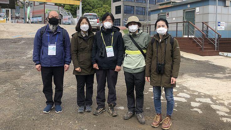 Frieden und Nachhaltigkeit an der Han-Flussmündung