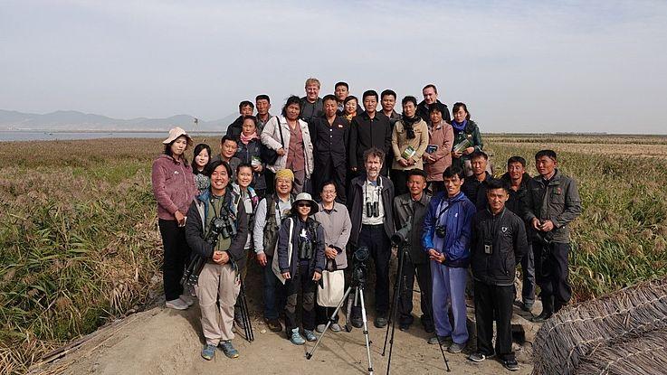 First Swan Goose Festival in DPR Korea - Celebrating World Migratory Bird Day