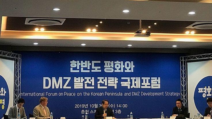 International Forum on Peace on the Korean Peninsula and DMZ Development Strategy