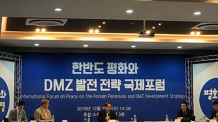 Internationales Forum in Chuncheon