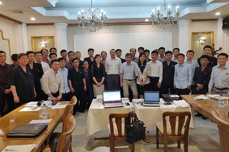 Die HSS Korea unterstützt Umweltschutzprojekte in Nordkorea.