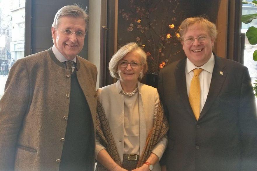 Im Austausch mit Frau und Herr Dr. Christoph Hollender