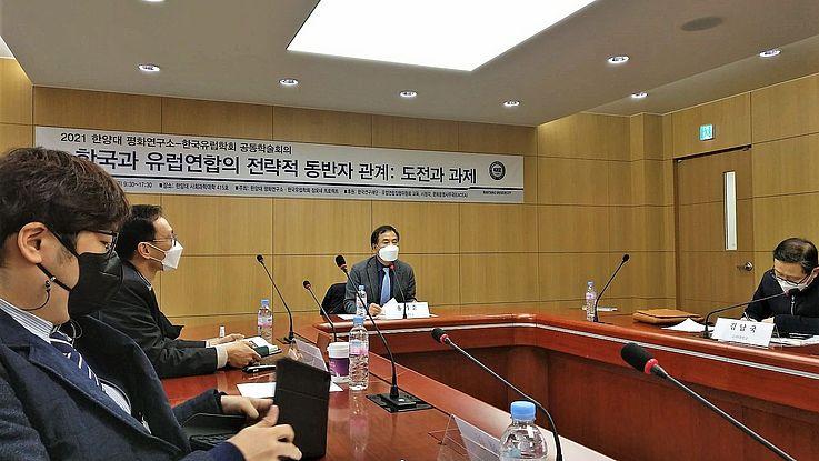 한국과 유럽연합의 전략적 동반자 관계