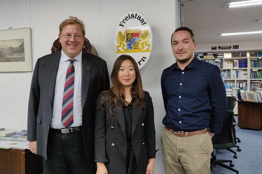 Treffen in der Hanns-Seidel-Stiftung