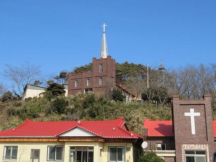 Die älteste protestantische Kirche auf der Insel. Ihre Geschichte geht zurück bis ins Jahr 1898.