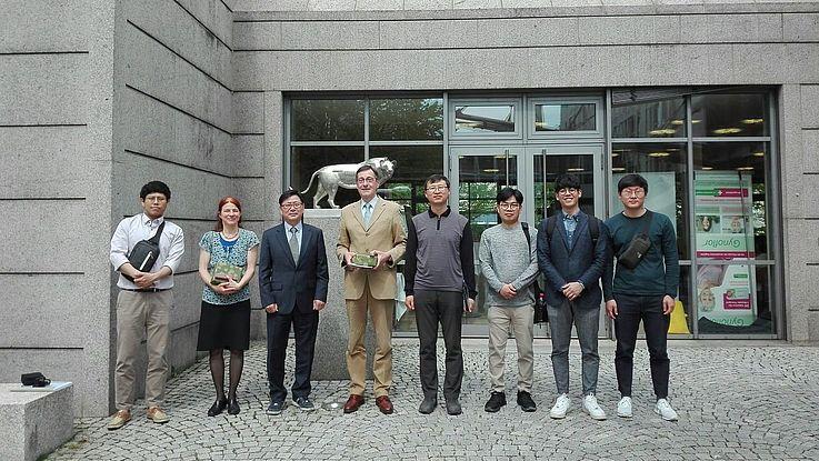 Deutsch-Koreanischer Austausch zu Koalitionsbildungen