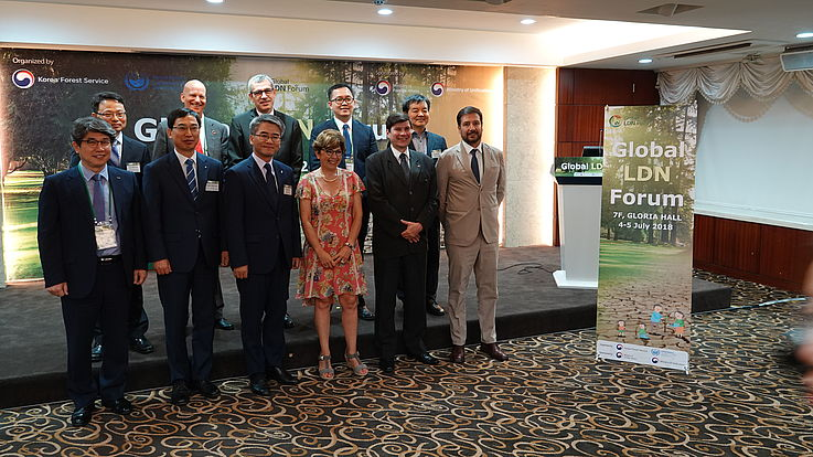 The participants of the First Global Land Degradation Neutrality Forum