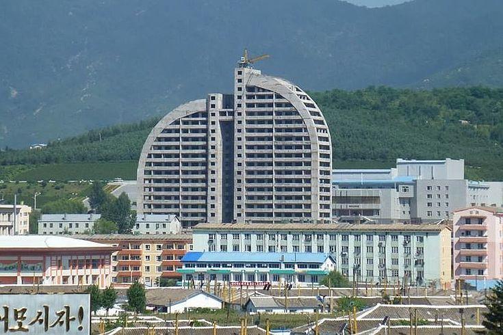 Neubau in Der Sonderwirtschaftszone Rason