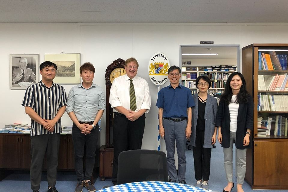 Meeting at HSF Korea Office