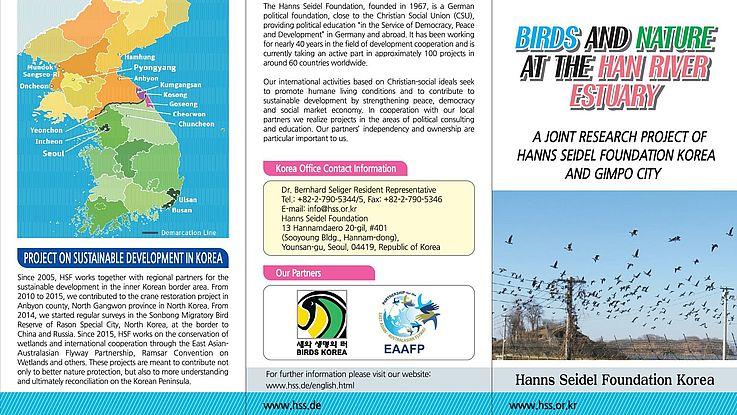 Gemeinsame Forschungsprojekte - Zum Schutz von Zugvögeln auf der Koreanischen Halbinsel