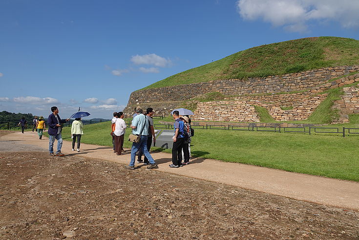 Besichtigung der Horogoru-Festung