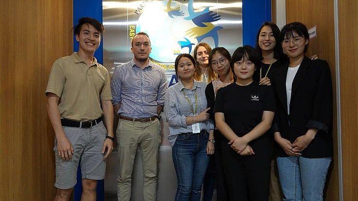 Teilnehmer des Meetings