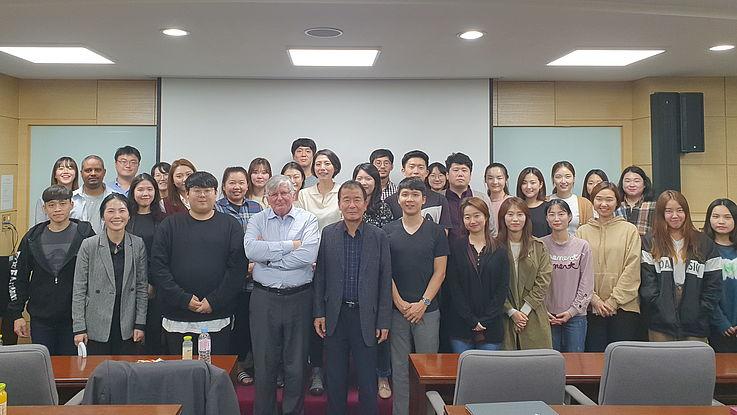 Workshop on Environmental Cooperation at Korea University