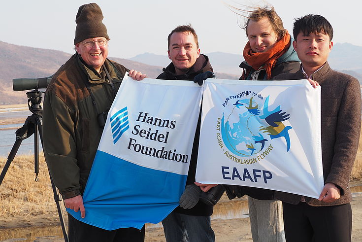 HSF and EAAFP in Rason, March 2018
