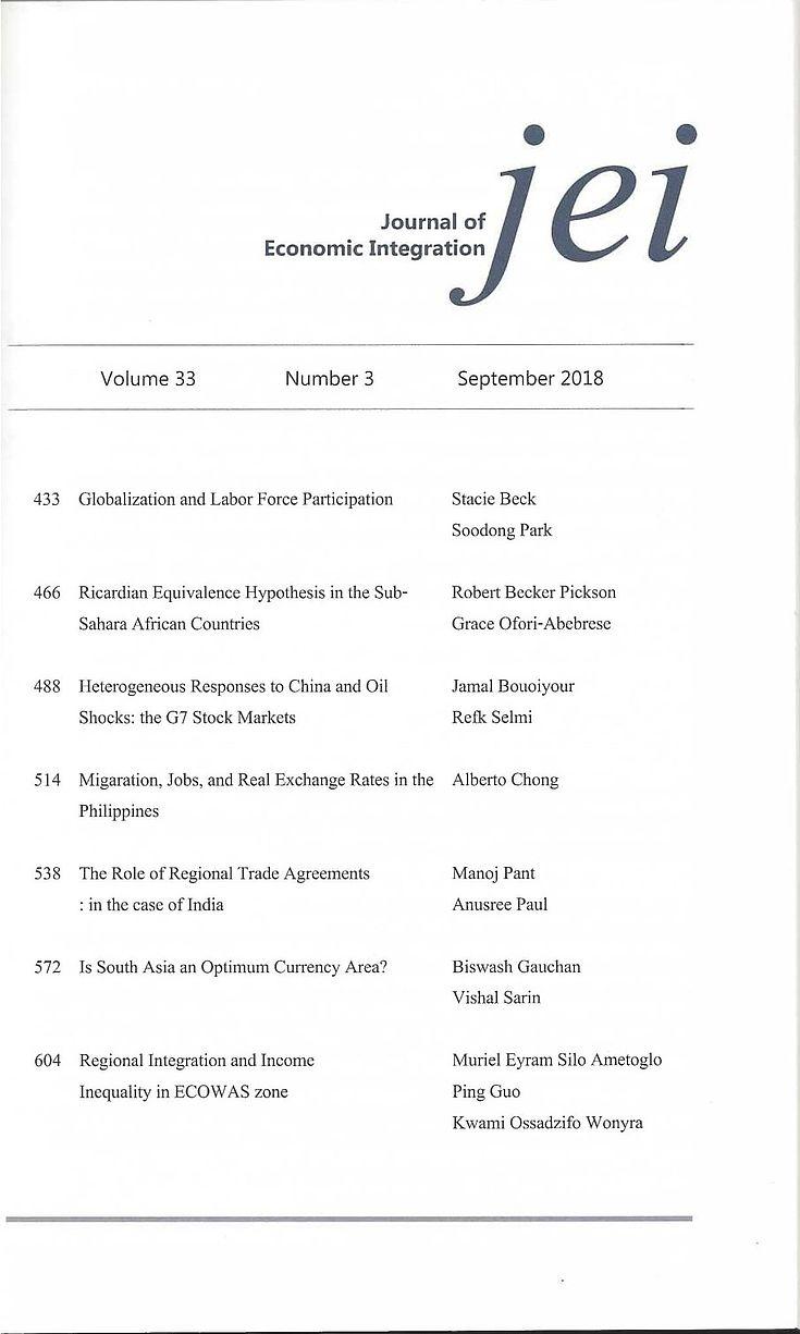 Inhaltsverzeichnis Vol. 33 No. 3