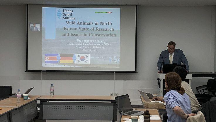 Aktueller Status der Forschung und des Schutzes nordkoreanischer Wildtiere