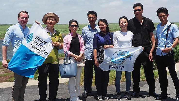 Hanns Seidel Foundation and East Asian - Australasian Flyway Partnership cooperate to protect wetlands