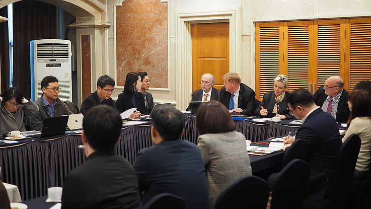 The briefing was a good opportunity for South Korean organizations to learn more about environment cooperation with North Korean partners