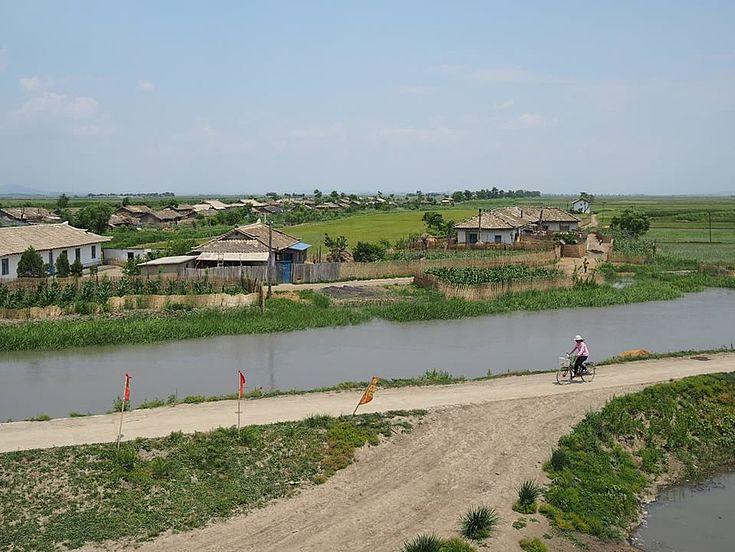 Mundok an Nordkoreas Westküste.