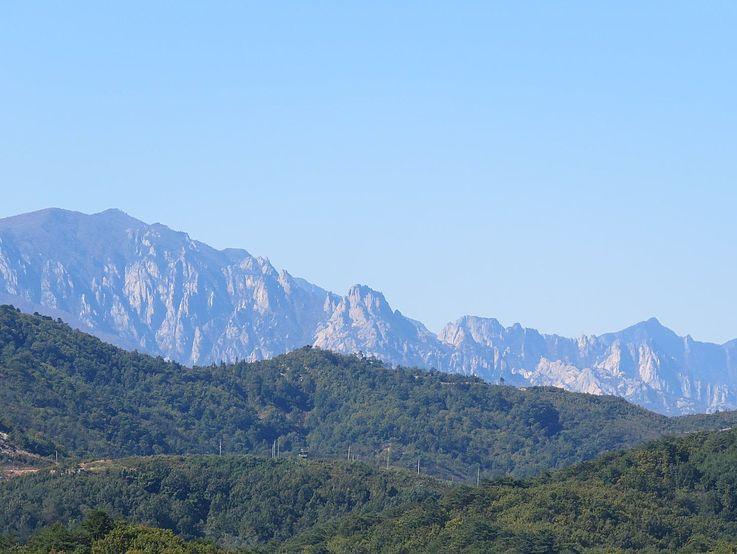 Kumgangsan, einer der wohl schönsten Berge in Korea.