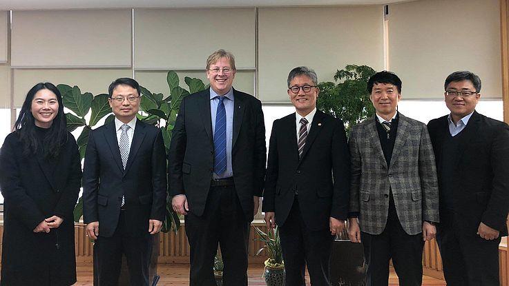 Treffen mit dem Korea Forest Service