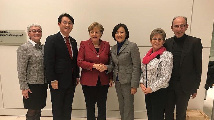 대한민국 국회의원 2인 독일 방문