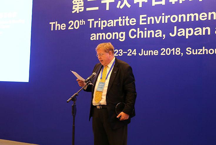 Dankesrede von Dr. Bernhard Seliger, HSS Korea