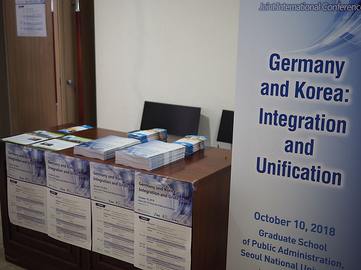 Information desk of the HSF
