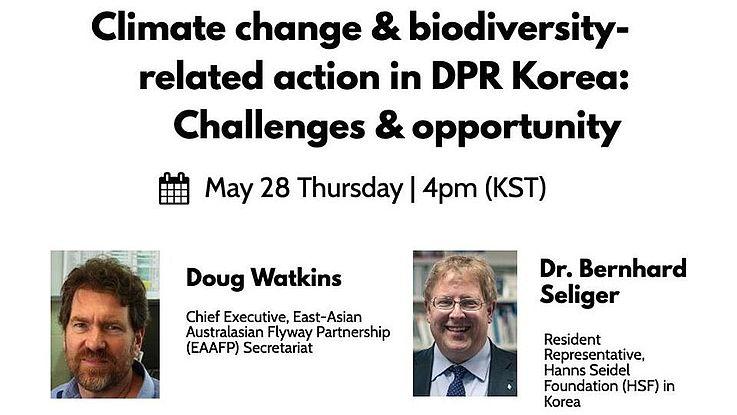 조류, 기후 변화, 그리고 북한